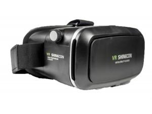 VR Shinecon 2.0 zwart zijaanzicht